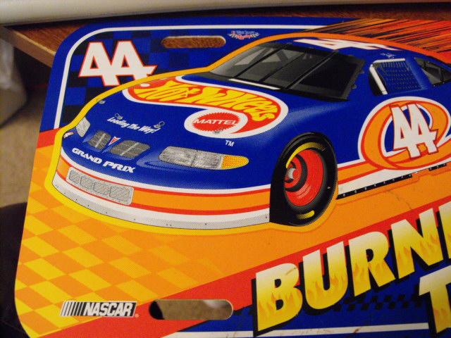 Kyle Petty 44 Hot Wheels Race Car Vehicle License Plate 1997